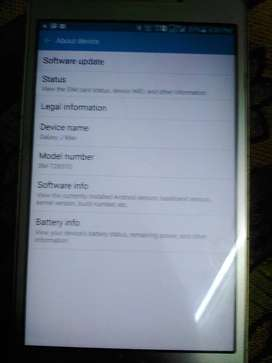 Galaxy J Max tab
