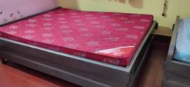 Double bed (box type) with Kurl-on mattress