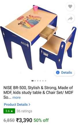 Kids Study table and chair set