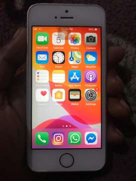 Iphone se 32 gb gold good condition
