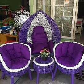 1 set Ayunan sofa rota