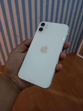 Iphone 11 64 gb white ibox (6 hari)