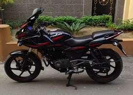 Sale new condition Bajaj pulsar 220f Bs-4 Engine bike.