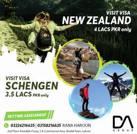 Multiple Canada visit visa, Schengen visa, New Zealand