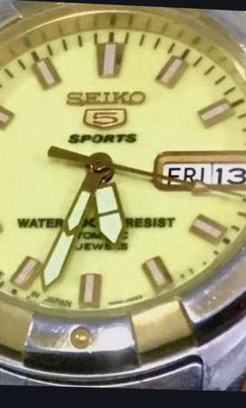 Seiko 5 sport watch