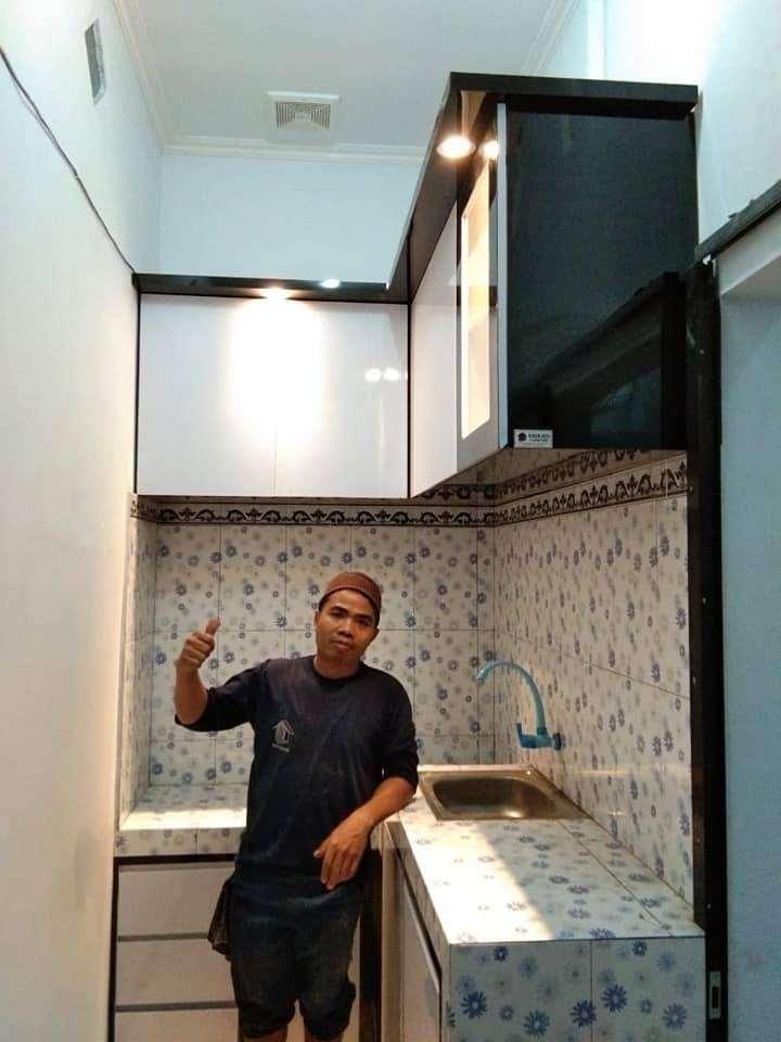 kitchen set by custom ilham jaya furniture murah RY 0