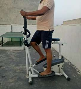 6000/- No Bargain ..Cardio Magnetic Cross Trainer with Adjustable Seat