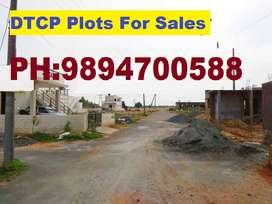 Kurumbapalayam-Sakthy NH near dtcp site for sale with gated community