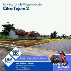 Bonus Yamaha N-Max;Tanah Kavling dekat Perum Ayodya Citra Mguwoharjo