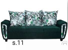American cloth  sofa 3 seater brand new
