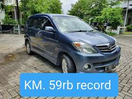 Avanza S 2009 AT KM 59rb