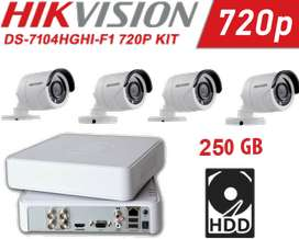 1080P DVR WITH 1MP HD CAMERAS SECURITY SYSTEM