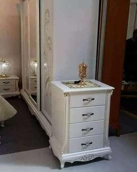 Meja nakas atau meja serbaguna, kayu jati,finis duco , free ongkir