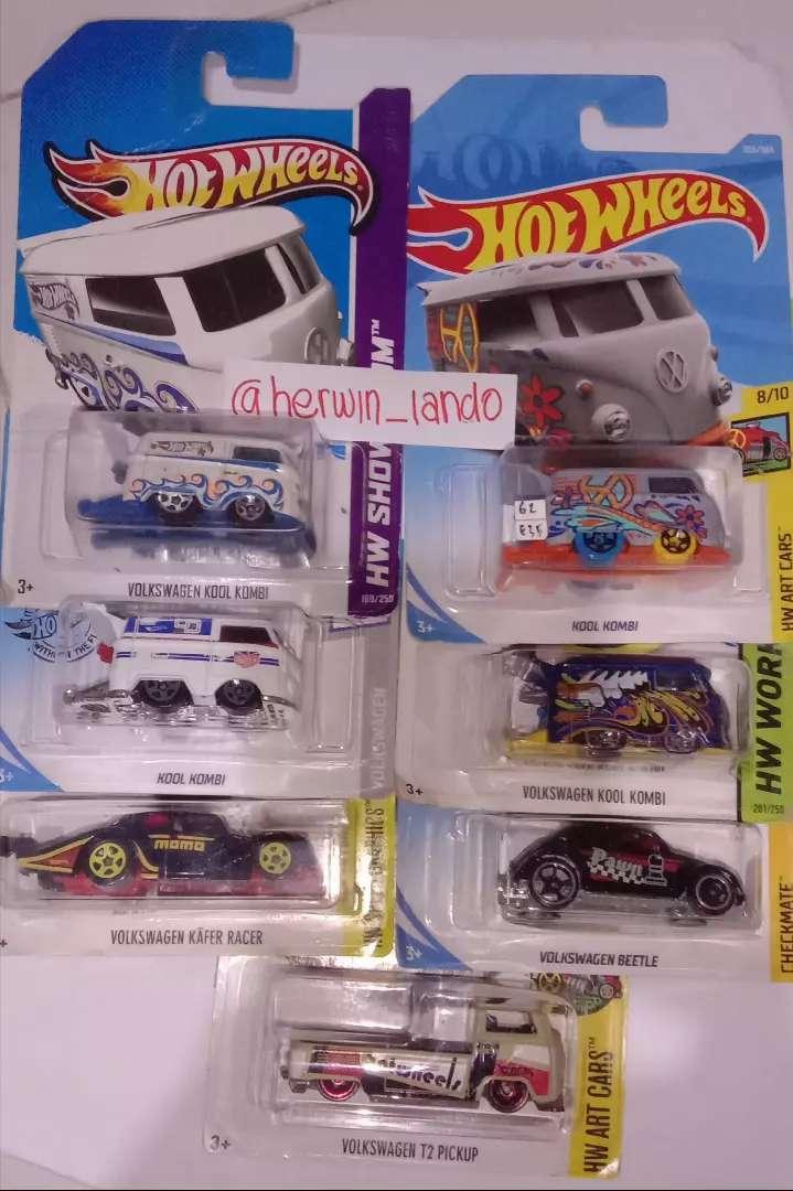 Sale Kolpri Hotwheels VW