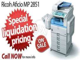 Latest Ricoh MP 2851 A3 size All in One Photocopier Available