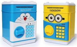 Mini ATM Bank Bank Personal Saving Money Box Machine Kids Gifts
