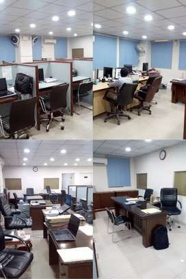 10,000 Sqft  Furnished,Multinational Level Office In Shahrah e Faisal