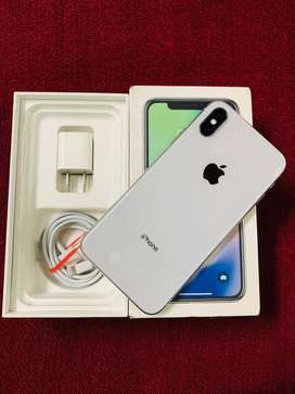iPhone X 64GB silver colour very neat and good condition