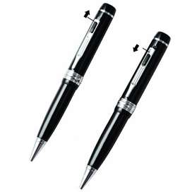 HD 1080p Camera Pen With Voice Recording