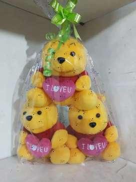 Set boneka winnie the pooh..