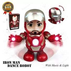 Mainan robot dancing ironman bumble bee ultraman