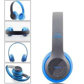 Bluetooth Wireless Stereo Headset Outdoor Sports Subwoofer Headphones