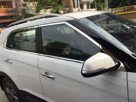 Hyundai creta chrome window garnish