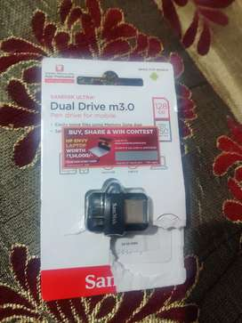 SanDisk ultra pendrive for mobile 128gb