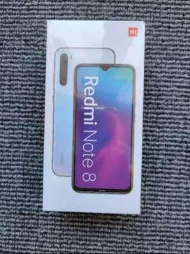 Mi note 8 128gb 6gb ram new mobile