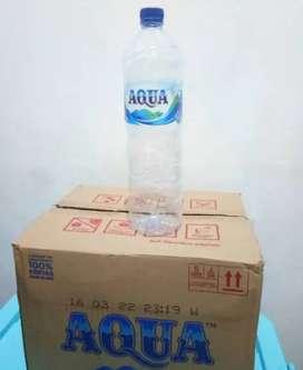 Botol aqua bekas 1.5 liter