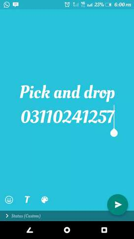 Pic and drop service