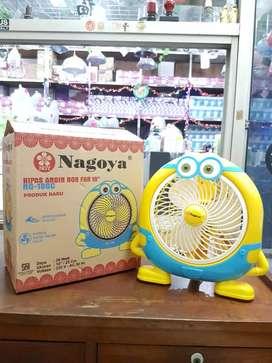 "Kipas Angin Karakter Minions Box Fan 10"" Nagoya LUCU PROMO MURAH"