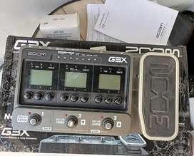 Efek Gitar Zoom G3X