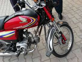 Honda CD-70, All parts in genuine condition, used under Army person