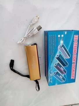 Senter LED baterai Cas + korek api cas. BARANG BARU