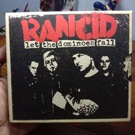 CD Original - Rancid - Let The Dominoes Fall - 2 CD 1 DVD 3 Poster
