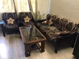 Sofa 5 seater alongwith centre table