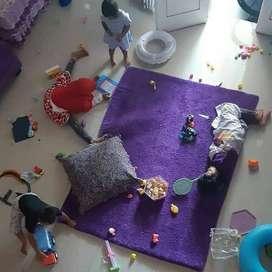 Produksi Karpet Bulu Isi Busa| Surpet | Tikar | Permadani Kasur Lantai