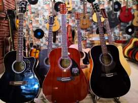 American guitars available in stock fender, yamaha, tagima, epiphone
