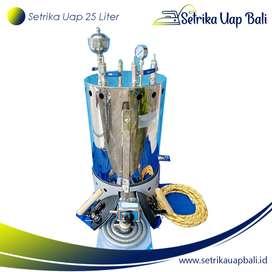 Setrika Uap Laundry 25 Liter 2 Setrika (full stenlis)