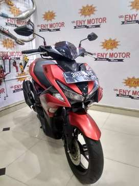 Yamaha Aerox 155 red matte Thun 2017 . - UD.ENY MOTOR
