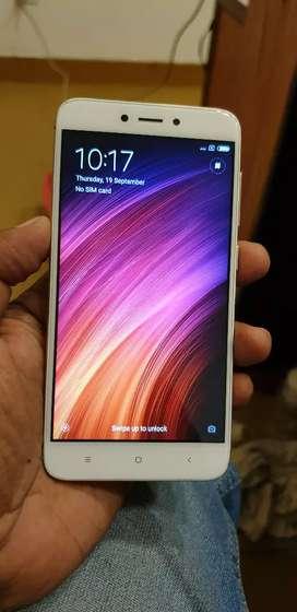 Redmi 4 , 2gb 16gb variant 4g dual sim phone
