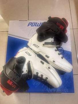 Powerslide Next White Inline Skate Boots
