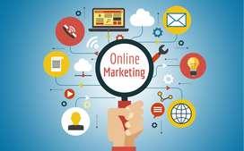 online marketing,  official website handling