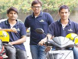 Rapido hiring need Delivery boys
