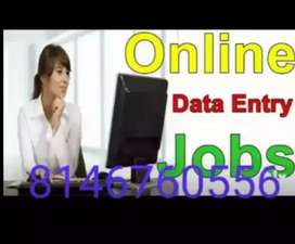 Limited seats oppurtunities for data entry job