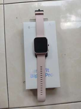 Smartwatch amazfit bip u pro gps fullset pink