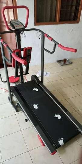Best New Treadmill manual Multifungsi lengkap berkualitas JS-003
