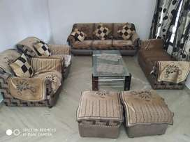 Sofa set 11 seats with table