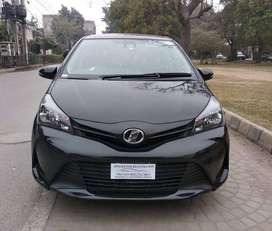 Toyota Vitz F 1.0 2016 on easy installment